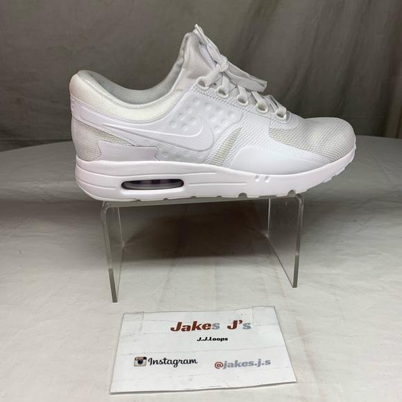 Nike Air Max Zero Essential White Wolf Grey NWT